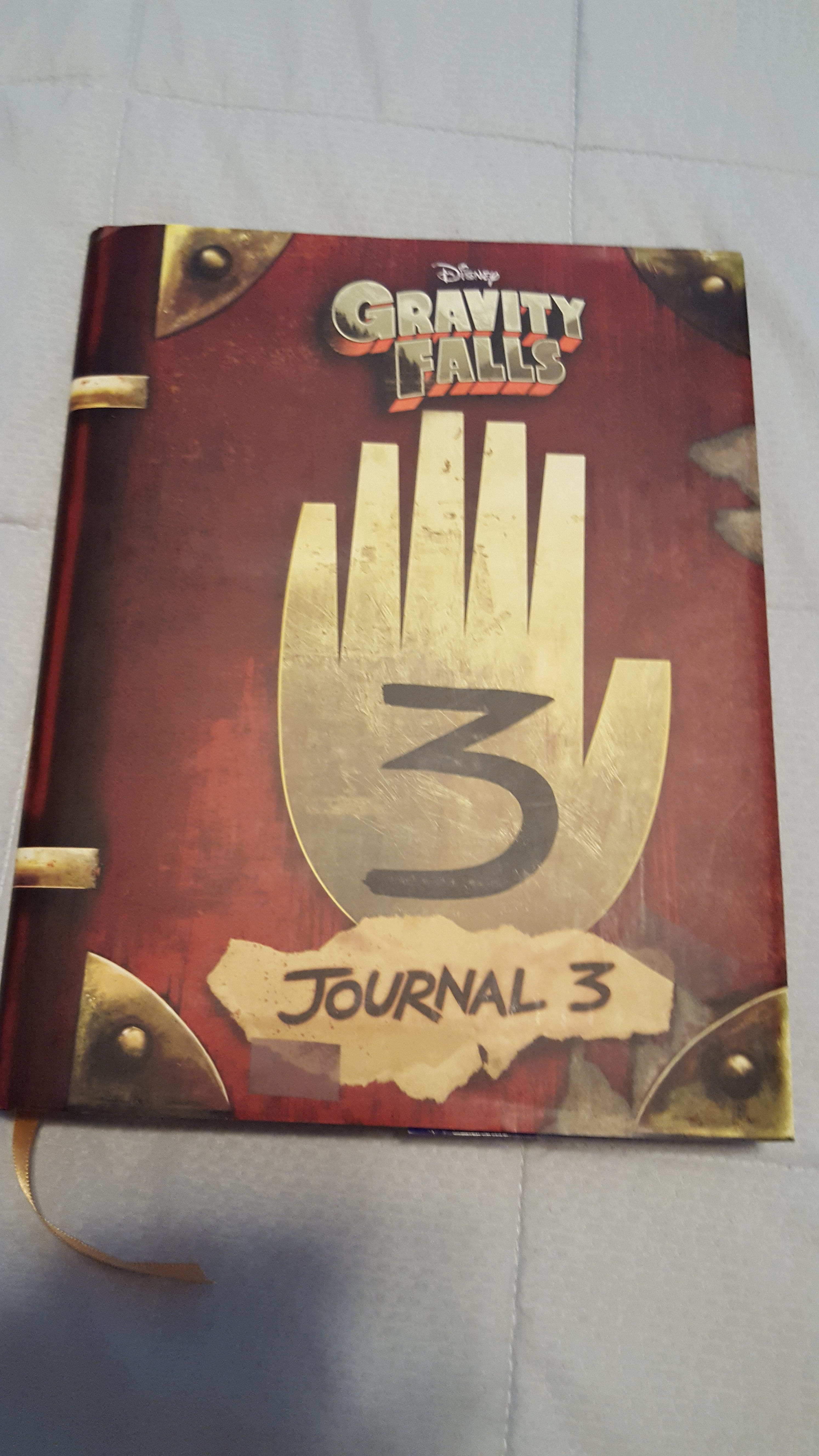 book review gravity falls journal 3 by alex hirsch and rob renzetti